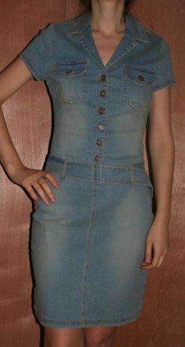 Denim Cotton Stretch Jeans Dress Hot Kiss  M Lady Sexy
