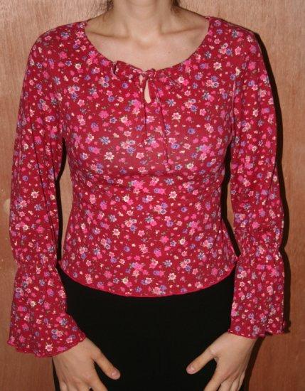 Feminine Top Shirt Blouse S