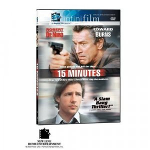 15 Minutes (Infinifilm Edition) (2001) DVD movie