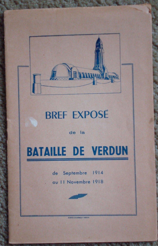 Bref Expose de la Bataille de Verdun