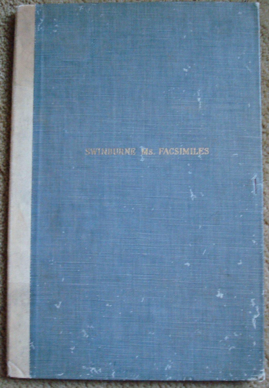 Swinburne Essay Manuscript Facsimilie