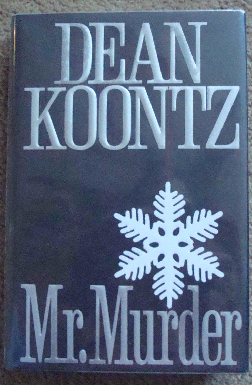 Mr. Murder - Dean Koontz 1st Edition/Printing, Signed