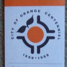 Orange, California Centennial Street Map