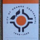 Orange, California Centennial Street Map