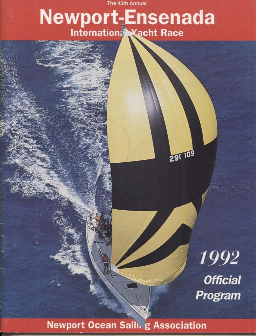 1992 Newport-Ensenada International Yacht Race Program