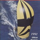 1992 Newport-Ensenada International Yacht Race Program