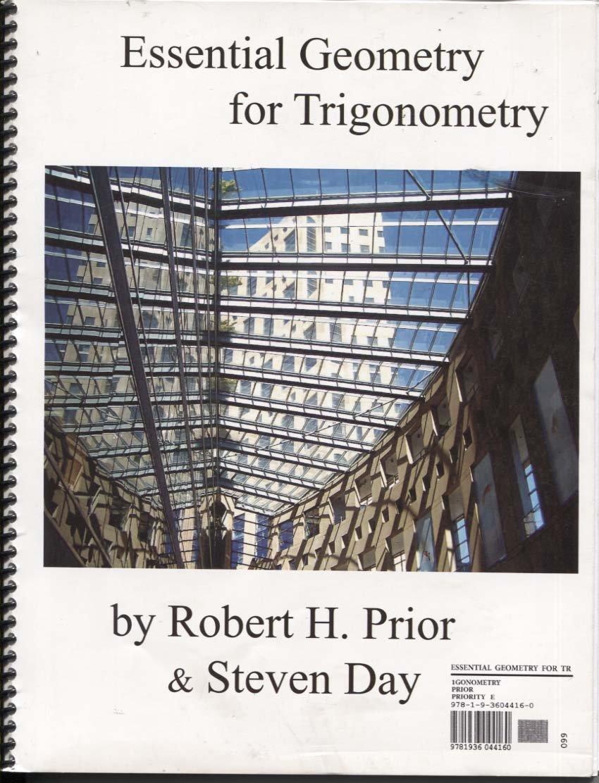 Essential Geometry for Trigonometry