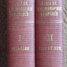 Le Sonnet en Italie et en France au XVI Siecle - Two Volumes