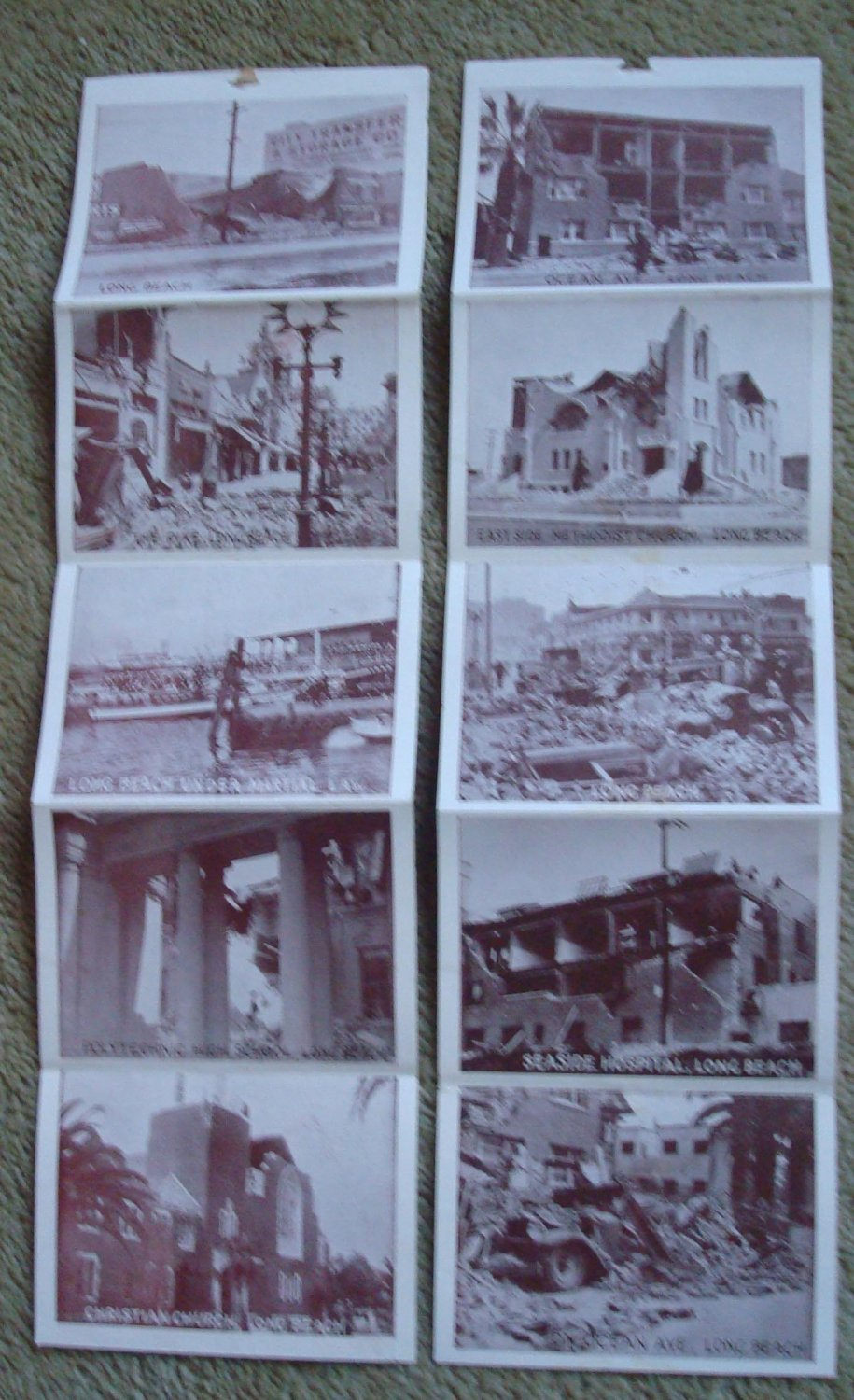1933 Southern California Earthquake - Long Beach Pictures