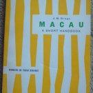 Macau: A Short Handbook