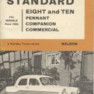 Standard Eight and Ten: Pennant, Companion, Commercial, All Models From 1953