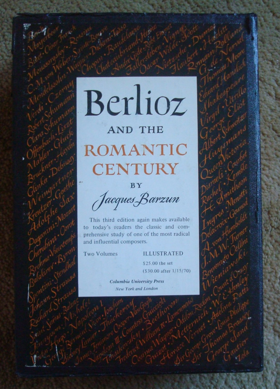 Berlioz and the Romantic Century - Two Volumes