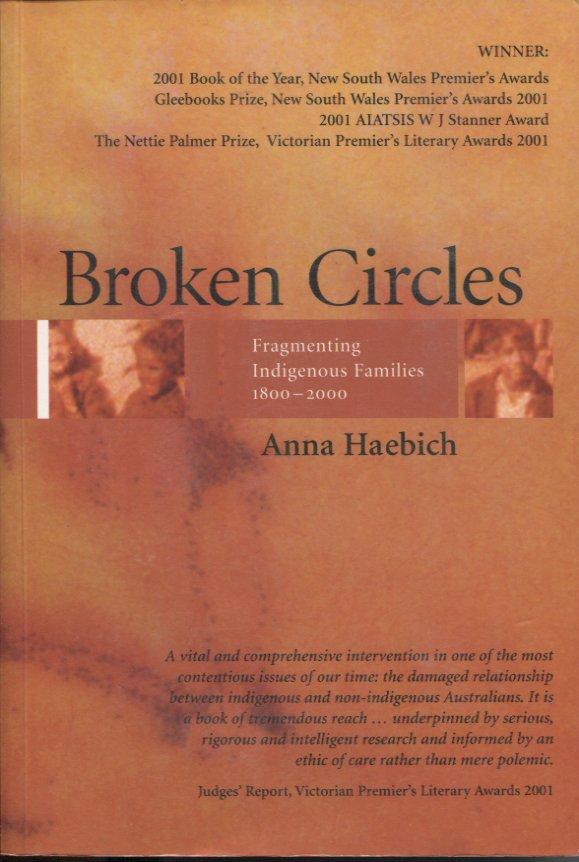 Broken Circles: Fragmenting Indigenous Families 1800-2000
