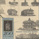 Auburn N.Y. 200 Years of History 1793-1993