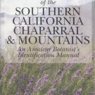Shrubs & Trees of the Southern California Chaparral & Mountains