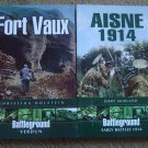 Fort Vaux & Aisne 1914 - WW I History, 2 Books