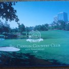 Big Canyon Country Club 25th Anniversary 1996