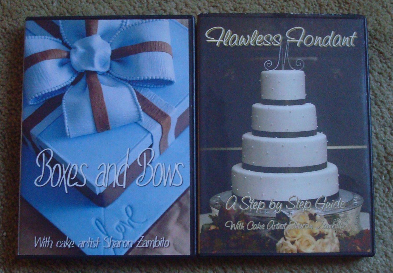 Cake Artist Sharon Zambito - 2 DVD Sets