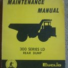 Euclid 300 Series LD Rear Dump Maintenance Manual