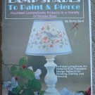 Lamp Shades to Paint and Pierce