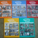 Looking at Spanish Signs, Food, Cities, etc. 5 Books Showing Spanish Culture