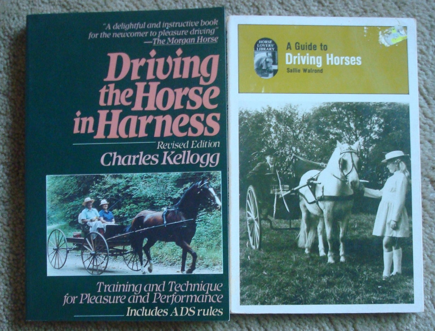 Driving the Horse in Harness - Two Books