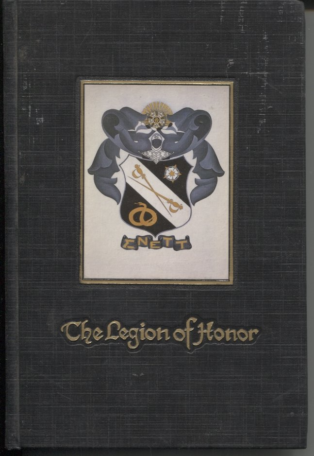 The Legion of Honor: Sigma Nu Fraternity