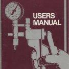 Mityvac Vacuum Pumps Users Manual