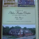 A History of Alpha Kappa Chapter of Pi Kappa Alpha Fraternity Rolla, Missouri 1905-2005