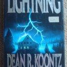 Lightning - Dean Koontz First Edition First Printing