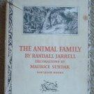 The Animal Family - Jarrell, Illus. by Maurice Sendak, 1st Ed/1st Printing