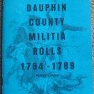 Dauphin County Militia Rolls 1784-1789