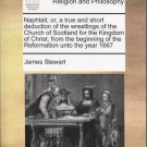 Naphtali - Sir James Stewart- Repression of the Presbyterians Since 1660