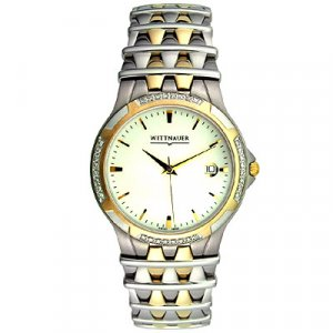 Wittnauer Two-tone Men's Diamond Bezel Watch