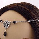 CUSTOM color CELTIC medieval renaissance Elven Bridal CIRCLET head piece SCA