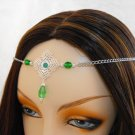 CUSTOM color Renaissance Medieval Wedding CIRCLET tiara head piece