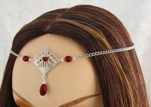 CUSTOM color Renaissance Elven LARP CIRCLET tiara crown head piece