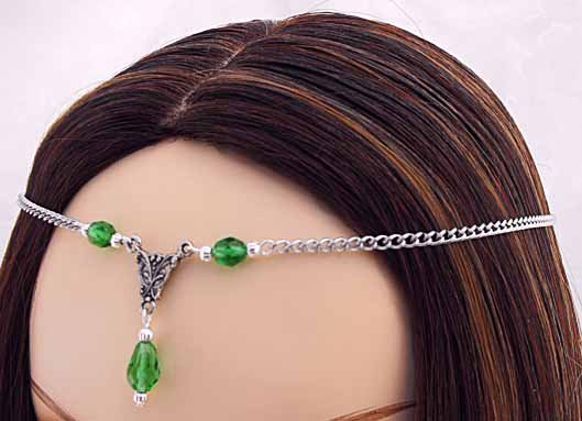 CUSTOM color Renaissance Wedding SCA CIRCLET tiara crown diadem medieval head piece