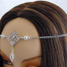 ITEM  1421 Pearl Elvish Medieval Renaissance wedding CIRCLET crown