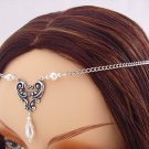 ITEM  3285 Pearl Renaissance HEART Medieval wedding CIRCLET tiara