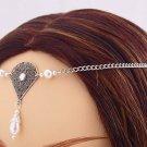 ITEM 3288 Pearl Renaissance Elven SCA LARP Medieval CIRCLET crown