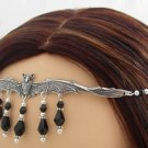 CUSTOM BAT vampire gothic CIRCLET crown tiara headpiece #3254 Jezebel