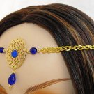 BLUE sca medieval renaissance ELViN CIRCLET crown tiara