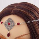 Burgundy RENAISSANCE Medieval Queen tiara CIRCLET crown