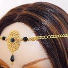 BLACK medieval renaissance gothic CIRCLET crown tiara