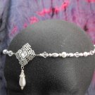 Pearl Circlet headpiece wedding crown tiara LARP SCA #1610