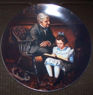 Young Scholar Collectible Plate