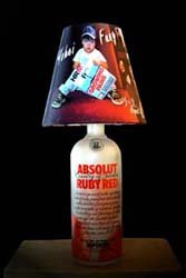 Customised Photo-on-Canvas lampshades