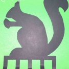 SQUIRREL iron key hanger