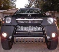 2002-2008 Nissan Xterra Green Halo Fog Lamps lights 02 03 04 05 06 07 08